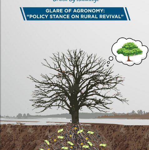 """GLARE OF AGRONOMY: """"POLICY STANCE ON RURAL REVIVAL"""""""