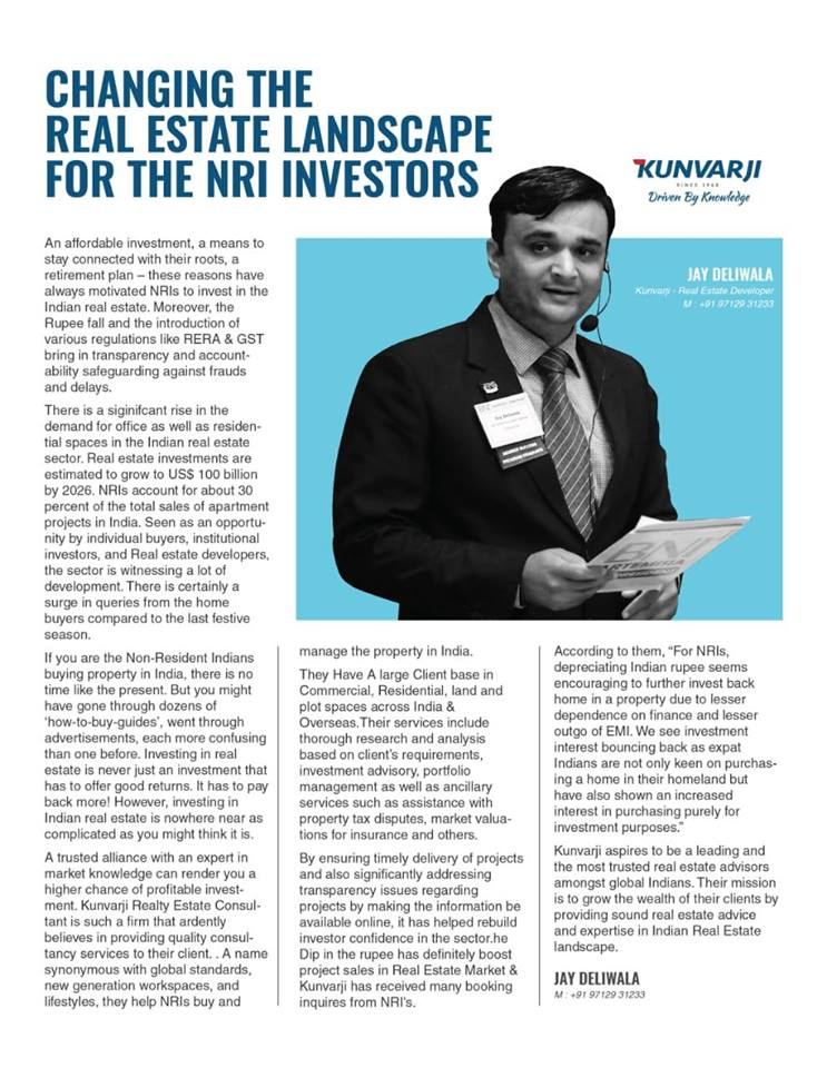 Changing the Real Estate Landscape for the NRI Investors